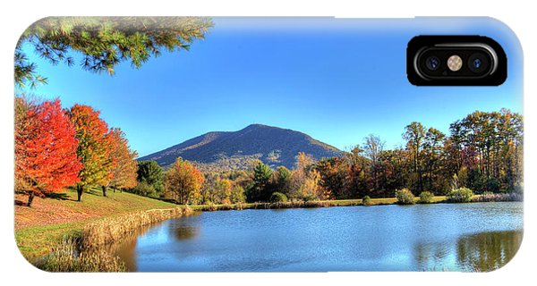 Mount Jefferson Reflection IPhone Case