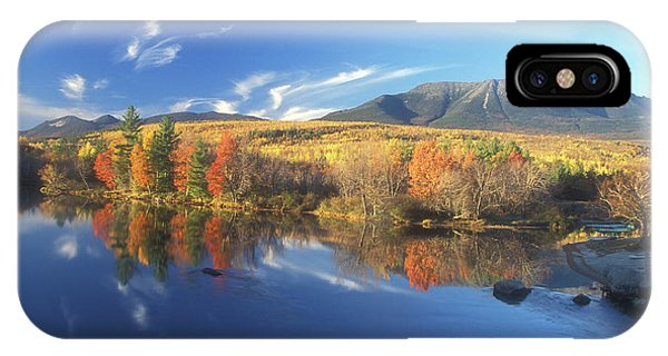 Mount Katahdin From Abol Bridge IPhone Case