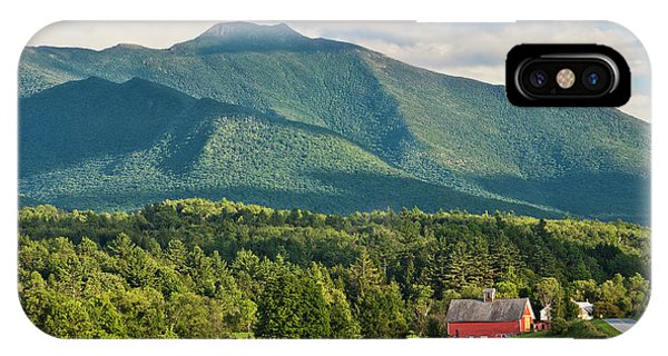 Mount Mansfield Summer View IPhone Case