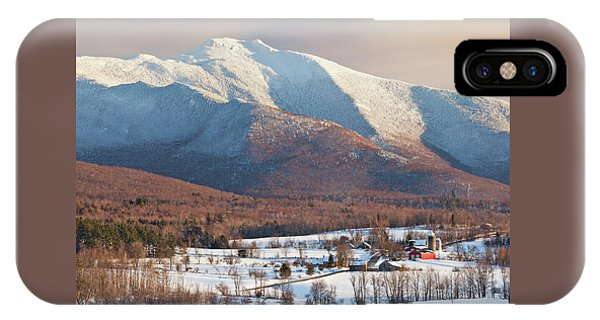 Mount Mansfield Winter Afternoon IPhone Case