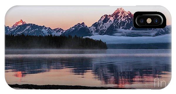 Mount Moran IPhone Case