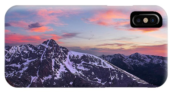 Mount Of The Holy Cross Panorama Phone Case by Aaron Spong