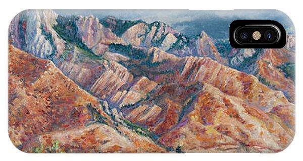 Mount Olympus In Autumn  IPhone Case