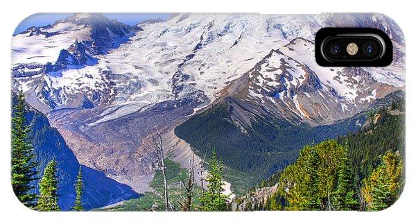 Mount Rainier IIi IPhone Case