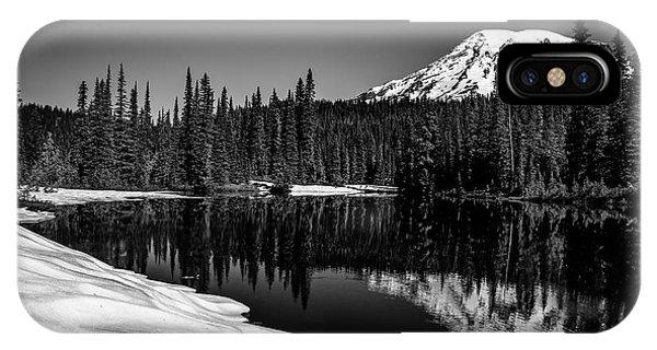 Mount Rainier Reflection IPhone Case