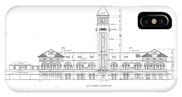 Mount Royal Station IPhone Case