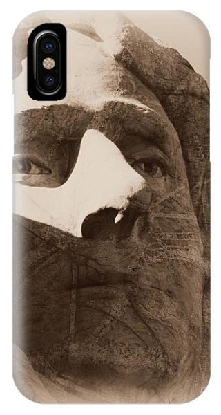 Mount Rushmore Faces Jefferson IPhone Case