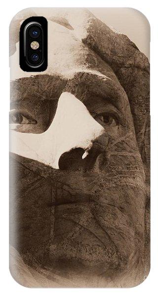 Mount Rushmore Faces Jefferson IPhone Case