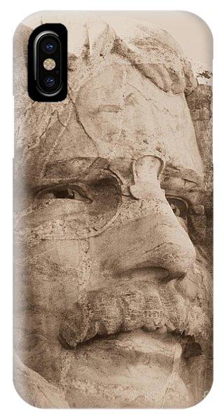 Mount Rushmore Faces Roosevelt IPhone Case