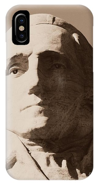 Mount Rushmore Faces Washington IPhone Case