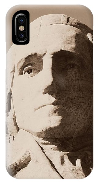 Mount Rushmore Faces Washington IPhone Case