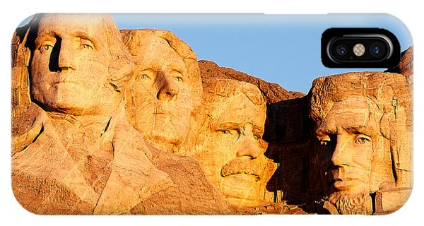 United States iPhone Case - Mount Rushmore by Todd Klassy