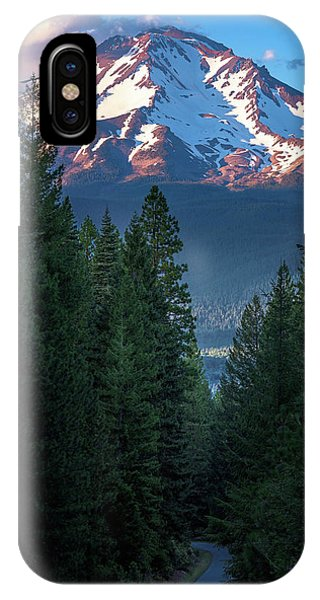 Mount Shasta - A Roadside View IPhone Case