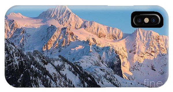 Mount Shuksan Alpenglow IPhone Case
