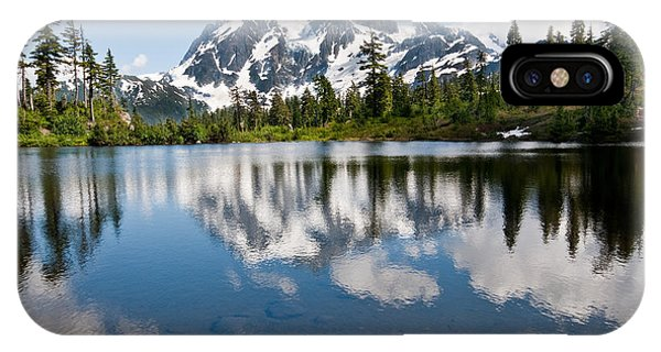 Mount Shuksan Reflected In Picture Lake IPhone Case