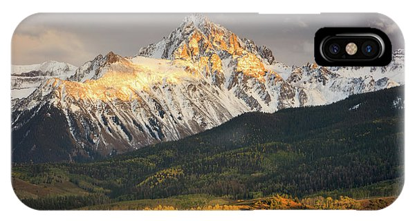 Mount Sneffels Sunset IPhone Case