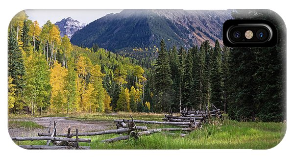 Mount Sneffels In Autumnn IPhone Case