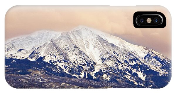 Mount Sopris IPhone Case