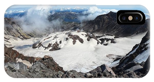 Mount St Helens Crater IPhone Case