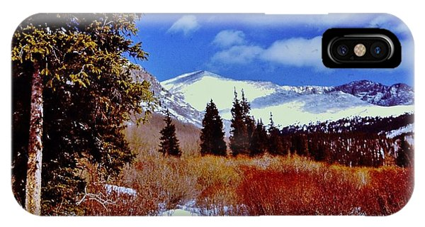 Mount St Vrain  IPhone Case
