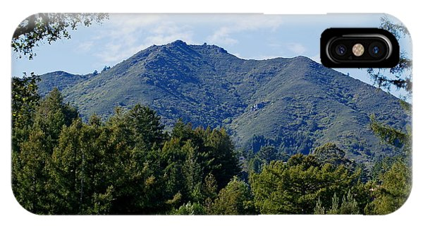 Mount Tamalpais IPhone Case