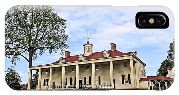 Mount Vernon IPhone Case
