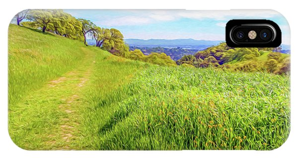 Mount Wanda Digital Watercolor IPhone Case