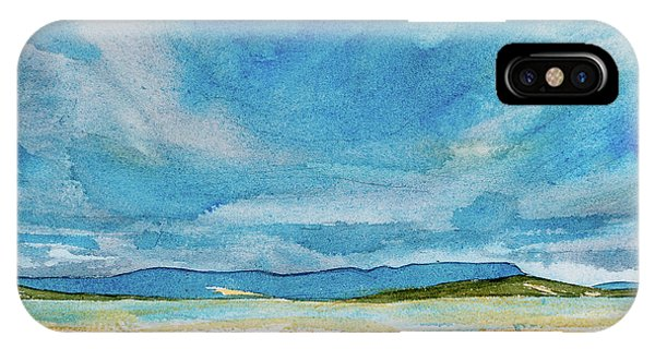 View Of Mount Wellington From South Bruny Island IPhone Case