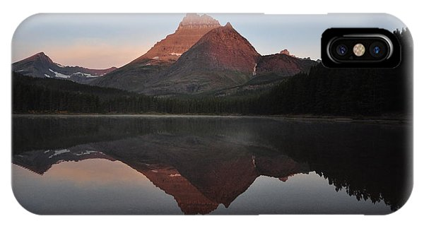 Mount Wilbur, Glacier National Park IPhone Case