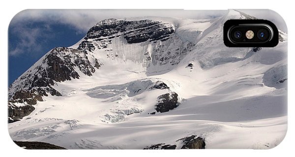 iPhone Case - Mount Wilcox Jasper National Park Canada  2 by Bob Christopher