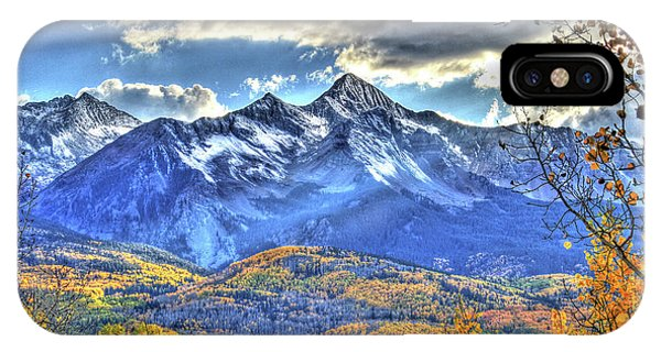 Mount Wilson IPhone Case