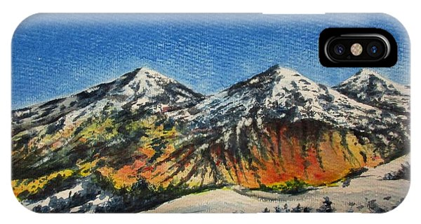 Mountain-5 IPhone Case
