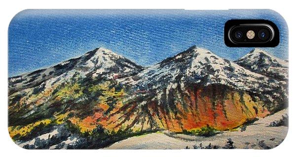 Mountain-5 IPhone Case