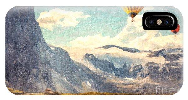 Mountain Air Balloons IPhone Case