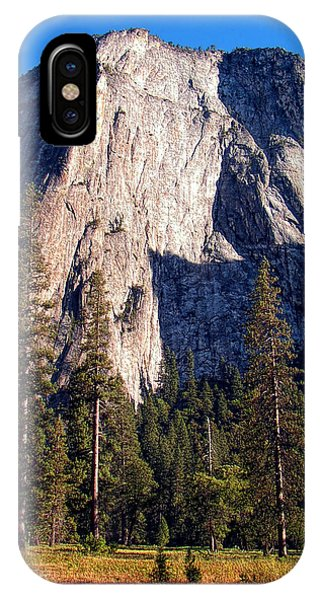 Mountain Cathedral - Yosemite IPhone Case