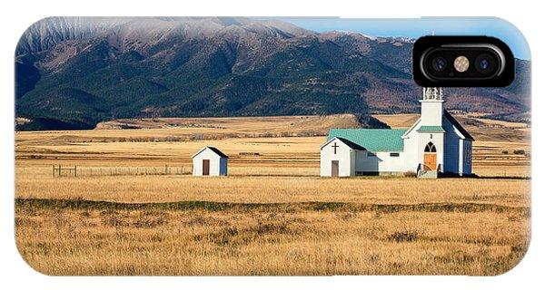 Chapel iPhone Case - Mountain Chapel by Todd Klassy