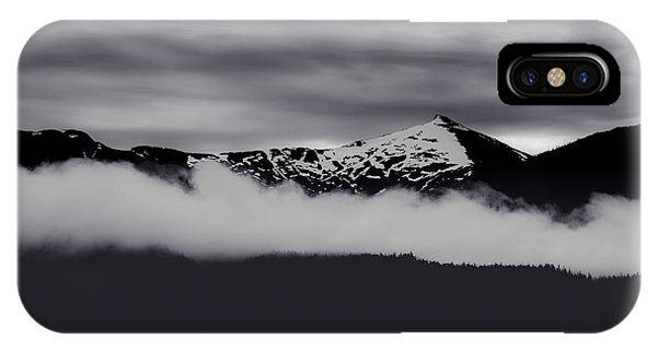 Mountain Contrast IPhone Case