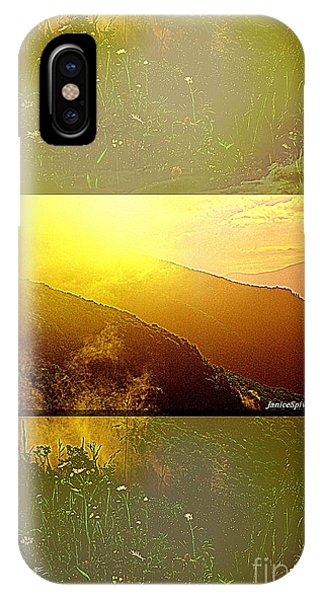 Mountain Days IPhone Case