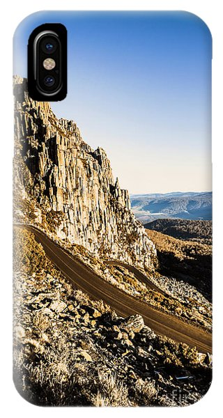 Rocky Mountain iPhone Case - Mountain Drive by Jorgo Photography - Wall Art Gallery