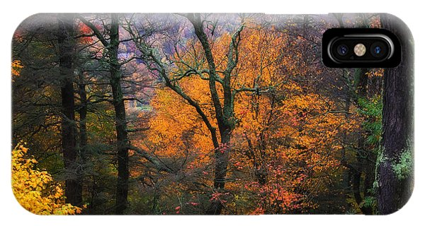 IPhone Case featuring the photograph Mountain Fall Colors by Ken Barrett