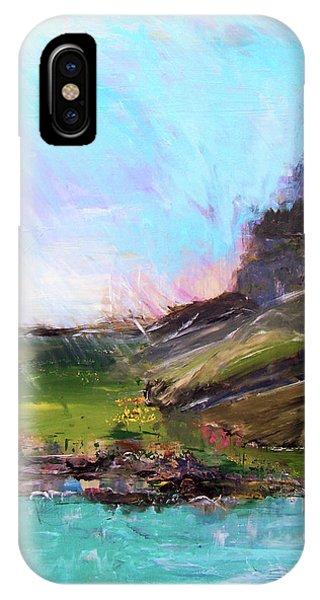 Mountain Fenceline IPhone Case