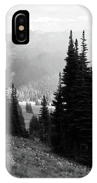 Mountain Flowers IPhone Case