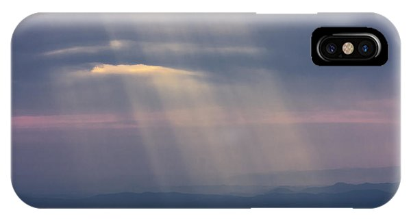 Mountain God Rays IPhone Case