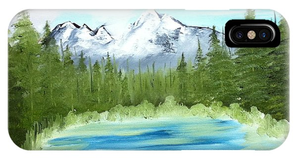 Mountain Imagining IPhone Case