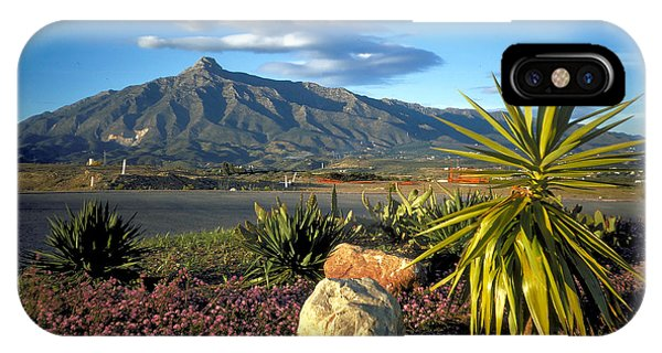 Mountain In Marbella Phone Case by Carl Purcell