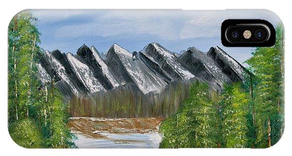 Mountain Lake IPhone Case
