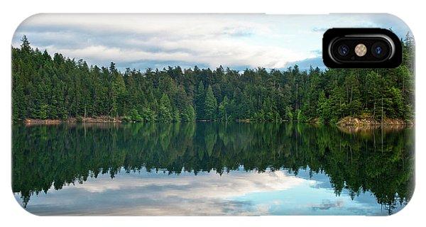 Mountain Lake Reflection IPhone Case
