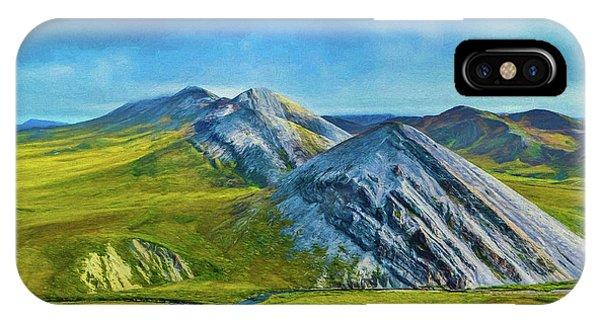 Mountain Landscape Digital Art IPhone Case