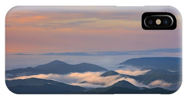IPhone Case featuring the photograph Mountain Layer Sunrise by Ken Barrett