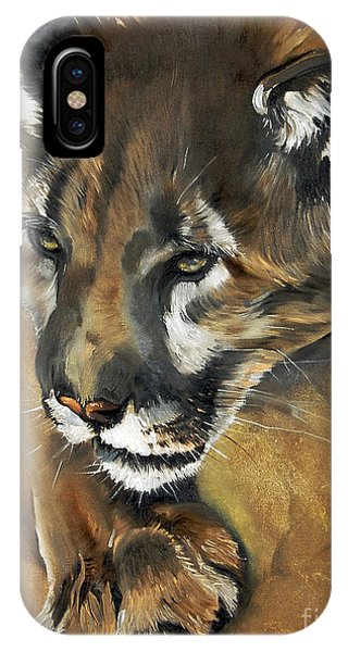 Mountain Lion - Guardian Of The North IPhone Case
